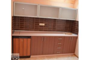 Кухня со стеклянными фасадами - Мебельная фабрика «ДИВО»