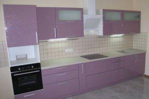 Кухня со встроенной бытовой техникой  - Мебельная фабрика «Ваша мебель»