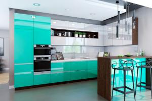Кухня SOLA Лазурь - Мебельная фабрика «MGS MEBEL»