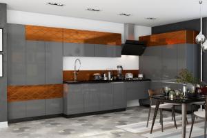 Кухня SOLA Мокко - Мебельная фабрика «MGS MEBEL»