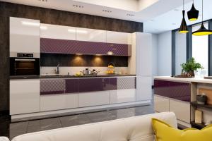 Кухня SOLA Пурпур - Мебельная фабрика «MGS MEBEL»