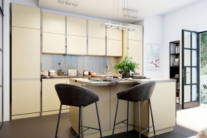 Кухня SOLA Ваниль - Мебельная фабрика «MGS MEBEL»