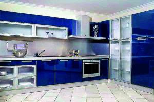 Кухня современная глянцевая - Мебельная фабрика «Святогор Мебель»
