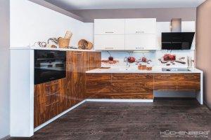 Кухня стильная ENERGY PALISANDER - Мебельная фабрика «KUCHENBERG»