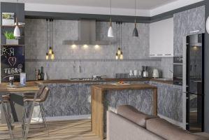 Кухня Студио - Мебельная фабрика «Walenza mebel»