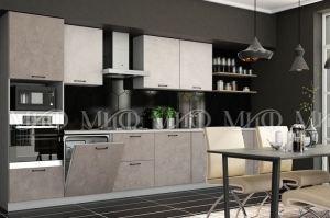 Модульная кухня Техно камень - Мебельная фабрика «МиФ»