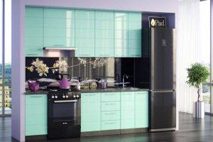 Кухня Техно Морская волна - Мебельная фабрика «Эко»