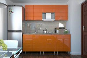Кухня Техно сигнал - Мебельная фабрика «Эко»