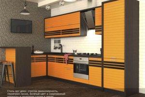 Кухня Темпо - Мебельная фабрика «Континент-мебель»