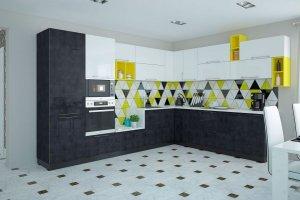 Кухня Tenigma Джина - Мебельная фабрика «MGS MEBEL»