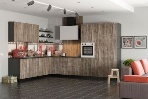 Кухня Tenigma Ирен - Мебельная фабрика «MGS MEBEL»