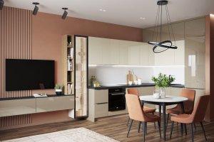Кухня Твист глянец - Мебельная фабрика «ВерноКухни»