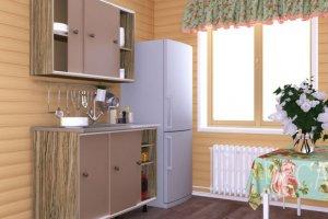 Кухня Удача для дачи - Мебельная фабрика «Смоленскмебель»