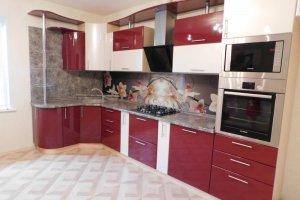 Кухня угловая 16 54 - Мебельная фабрика «Святогор Мебель»