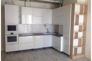 Кухня угловая  Арт МДФ 014 - Мебельная фабрика «Арт-Тек мебель»
