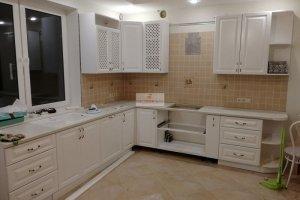Кухня угловая белая - Мебельная фабрика «МуромМебель (ИП Баранихина Г.И.)»