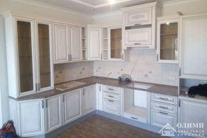 Кухня угловая белая Клеопатра 16 - Мебельная фабрика «ОЛИМП»