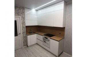 Кухня угловая Белый глянец - Мебельная фабрика «Алмаз-мебель»