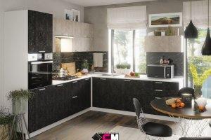 Кухня угловая Бетон - Мебельная фабрика «Стендмебель»