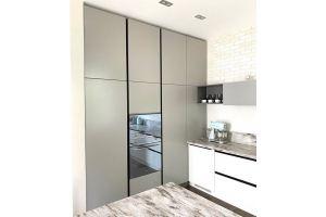 Кухня угловая без ручек - Мебельная фабрика «Grol»