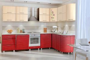 Кухня угловая Бриз - Мебельная фабрика «КомфортОН», г. Москва