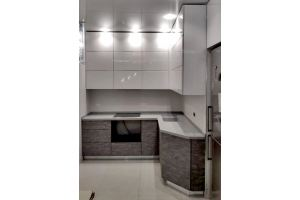 Кухня угловая Бьянко - Мебельная фабрика «Дэрия»