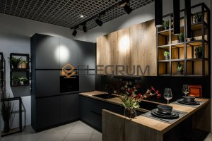 Кухня угловая Colorfull CF 32 - Мебельная фабрика «ELEGRUM»