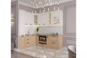 Кухня угловая Дуб Санремо - Мебельная фабрика «Стрела»