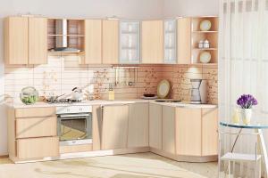 Кухня угловая Дуплекс - Мебельная фабрика «КомфортОН», г. Москва