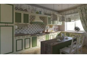 Кухня угловая Дворянское гнездо - Мебельная фабрика «Слон»