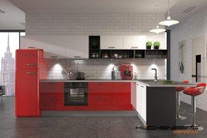 Кухня угловая EXPRESS COLORE - Мебельная фабрика «KUCHENBERG»