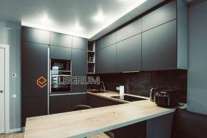 Кухня угловая Fenix - Мебельная фабрика «ELEGRUM»