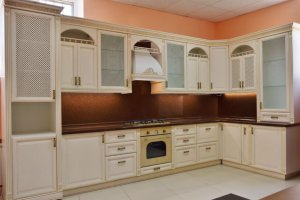 Кухня угловая Флоренция  - Мебельная фабрика «Ивна»