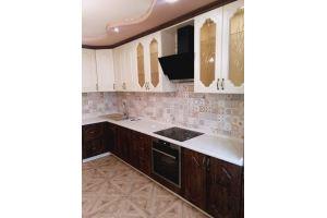 Кухня угловая фрезеровка Омега - Мебельная фабрика «Вектор-М»