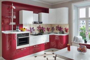Кухня угловая глянцевая - Мебельная фабрика «ДОН-Мебель»