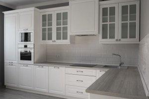 Кухня угловая Городская классика - Мебельная фабрика «Лига»