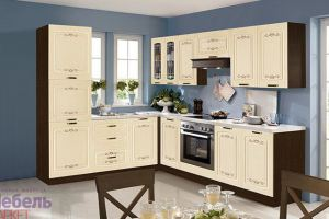 Кухня угловая Гурман 6 - Мебельная фабрика «Мебель-Маркет»