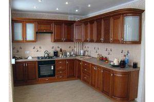 Кухня угловая  из массива - Мебельная фабрика «Арт Мебель»