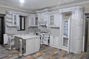 Кухня угловая из массива классическая - Мебельная фабрика «Евро-Цель»
