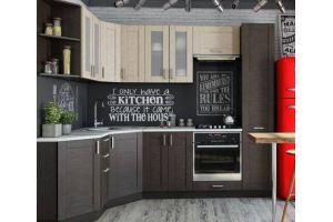 Кухня угловая Кантри 01 - Мебельная фабрика «Мебель Даром» г. Москва