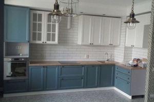 Кухня угловая кантри Иллиада - Мебельная фабрика «ОЛИМП»
