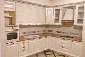 Кухня угловая классическая МДФ - Мебельная фабрика «КУБ»