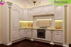 Кухня угловая классическая Верона - Мебельная фабрика «Акварель»