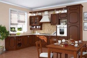 Кухня угловая Классика романская - Мебельная фабрика «Ариани»
