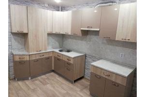 Кухня угловая комбинированная - Мебельная фабрика «Смоленскмебель»