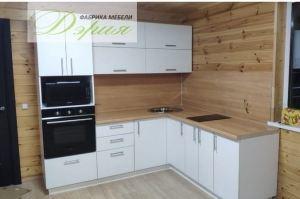 Кухня угловая компактная - Мебельная фабрика «Дэрия»