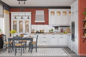 Кухня угловая Корсика - Мебельная фабрика «ВерноКухни»