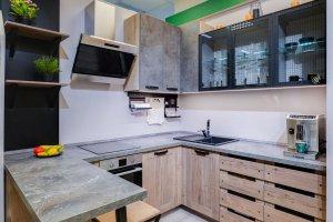 Кухня угловая Лофт - Мебельная фабрика «ВерноКухни»