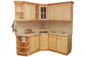 Кухня угловая массив - Мебельная фабрика «Упоровская мебельная фабрика»