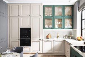 Кухня угловая массив Borgo 3 - Мебельная фабрика «Мария»